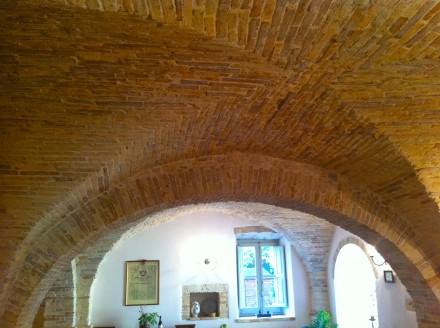 Immagine di un soffitto a crociera