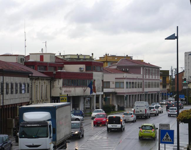 Area ex municipio di Stra