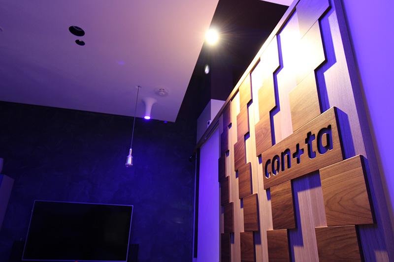 Foto dell'interno dello studio di architettura