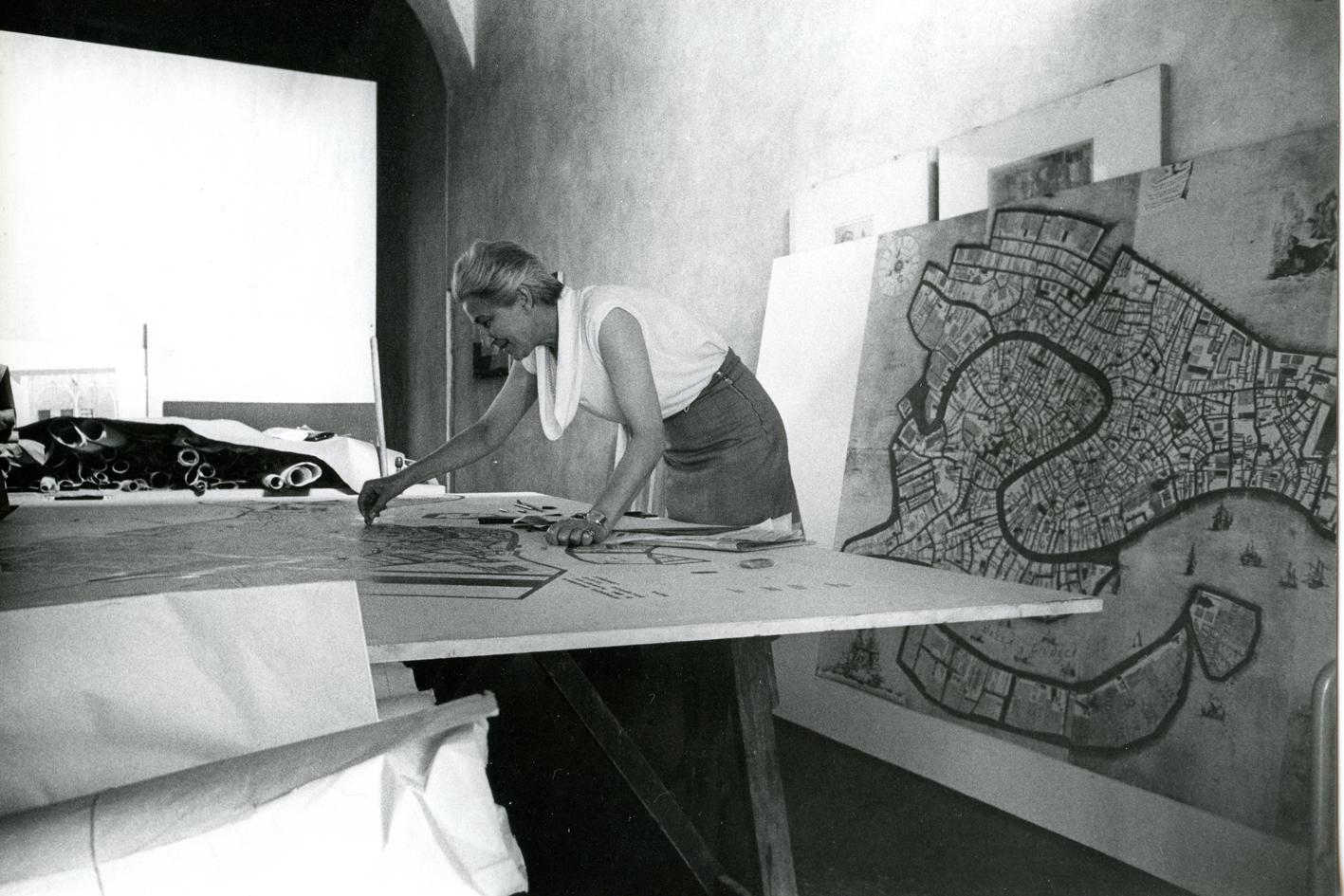 Egle Renata Trincanato, 1966.