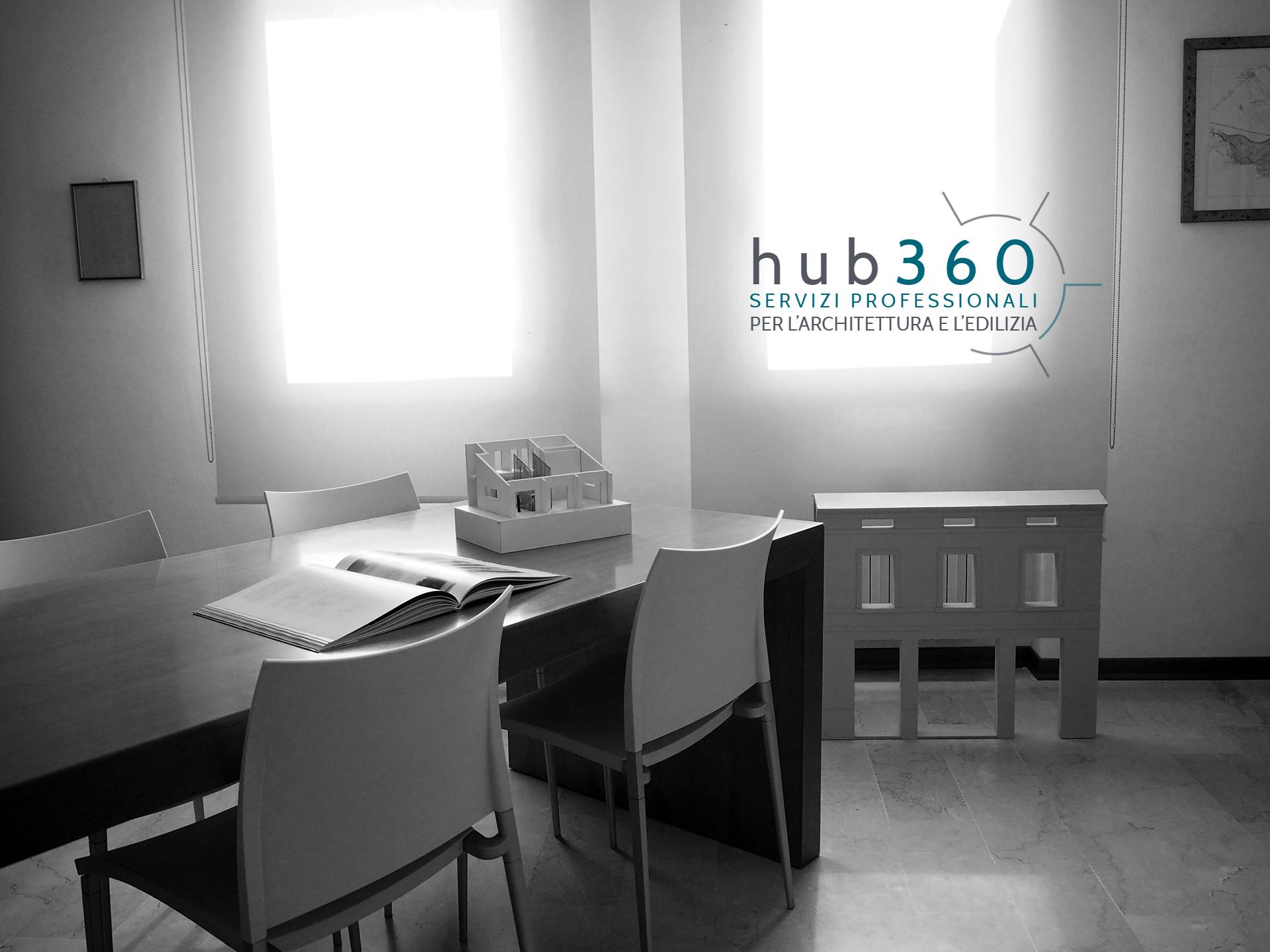 Fotografia di ambiente dello studio d'architettura.