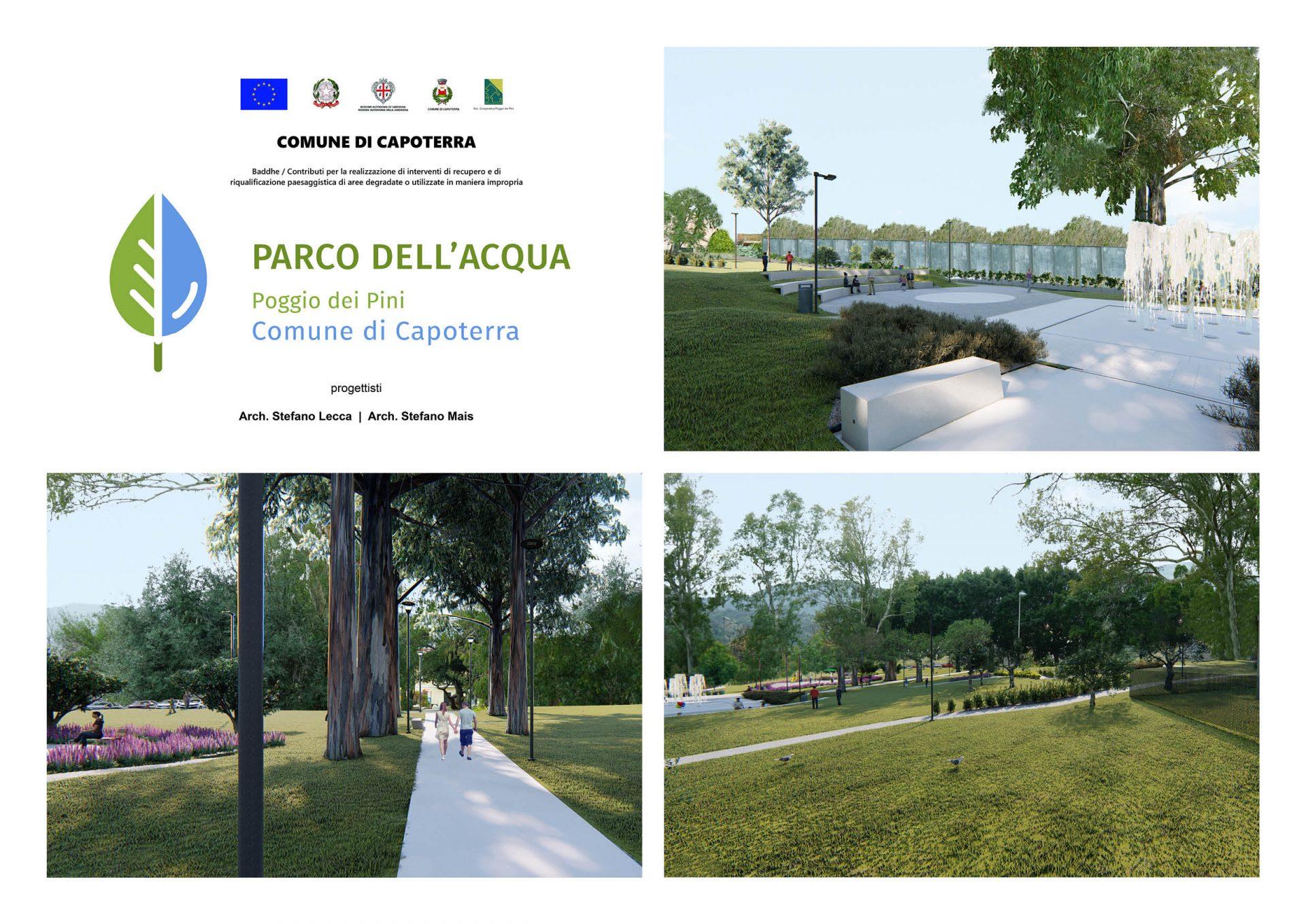 Parco dell'Acqua (Comune di Capoterra, Poggio dei Pini)