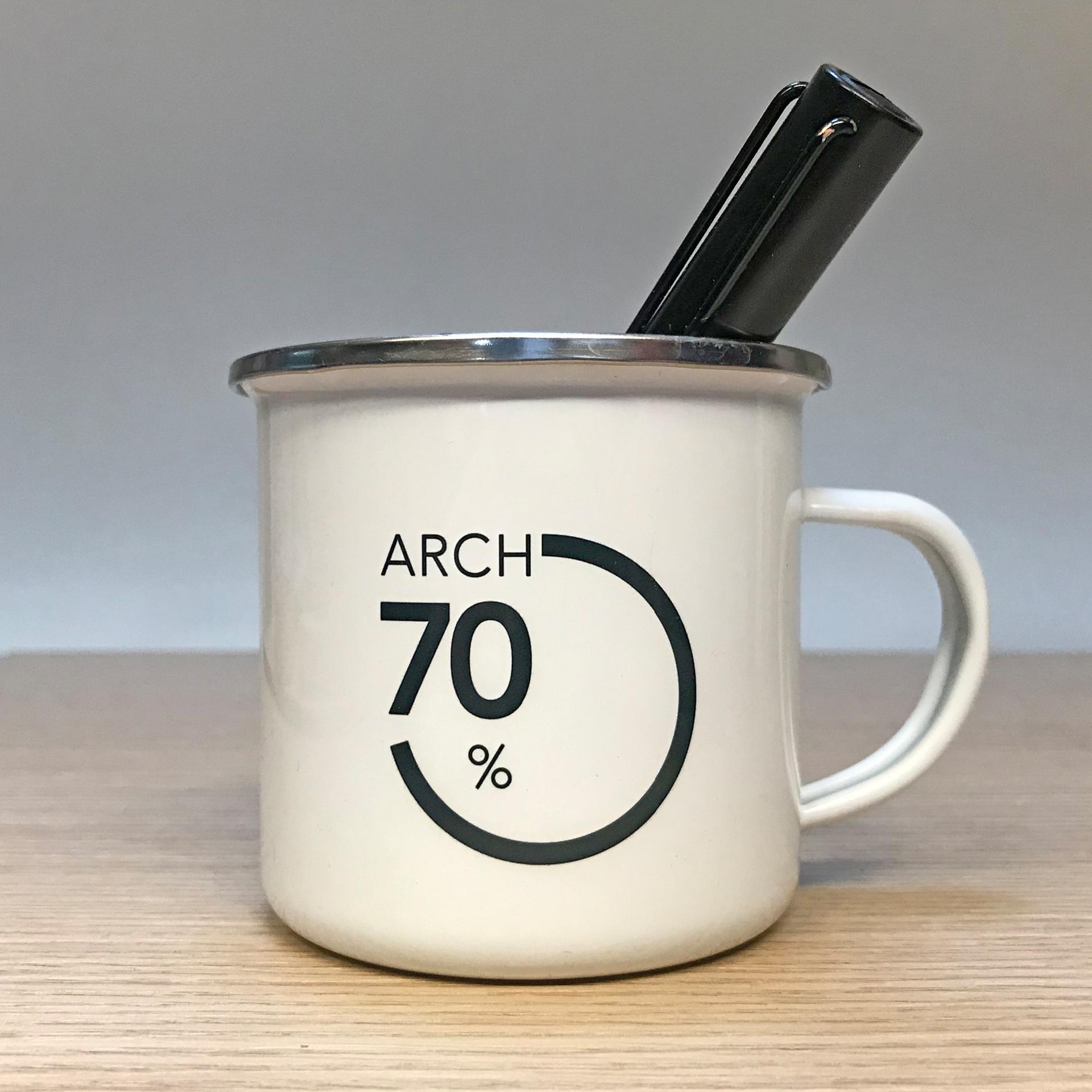 logo con tazza