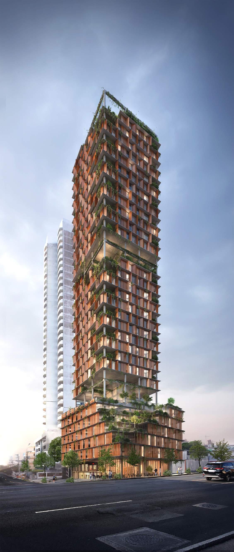 Progetto in fase di realizzazione - CASAPARQUE (Panamá)