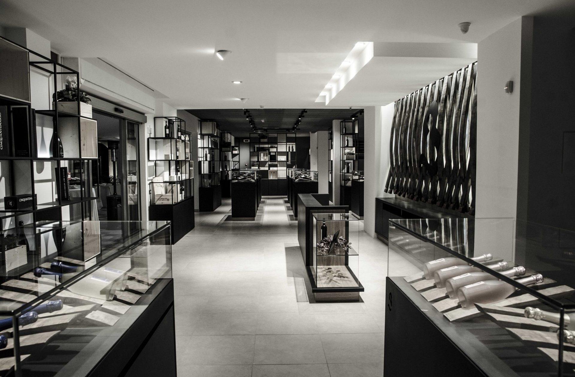 fotografia di uno showroom