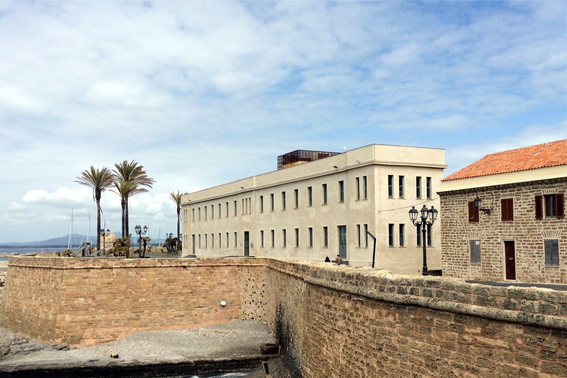 Vista dai Bastioni del complesso di Santa Chiara, Alghero