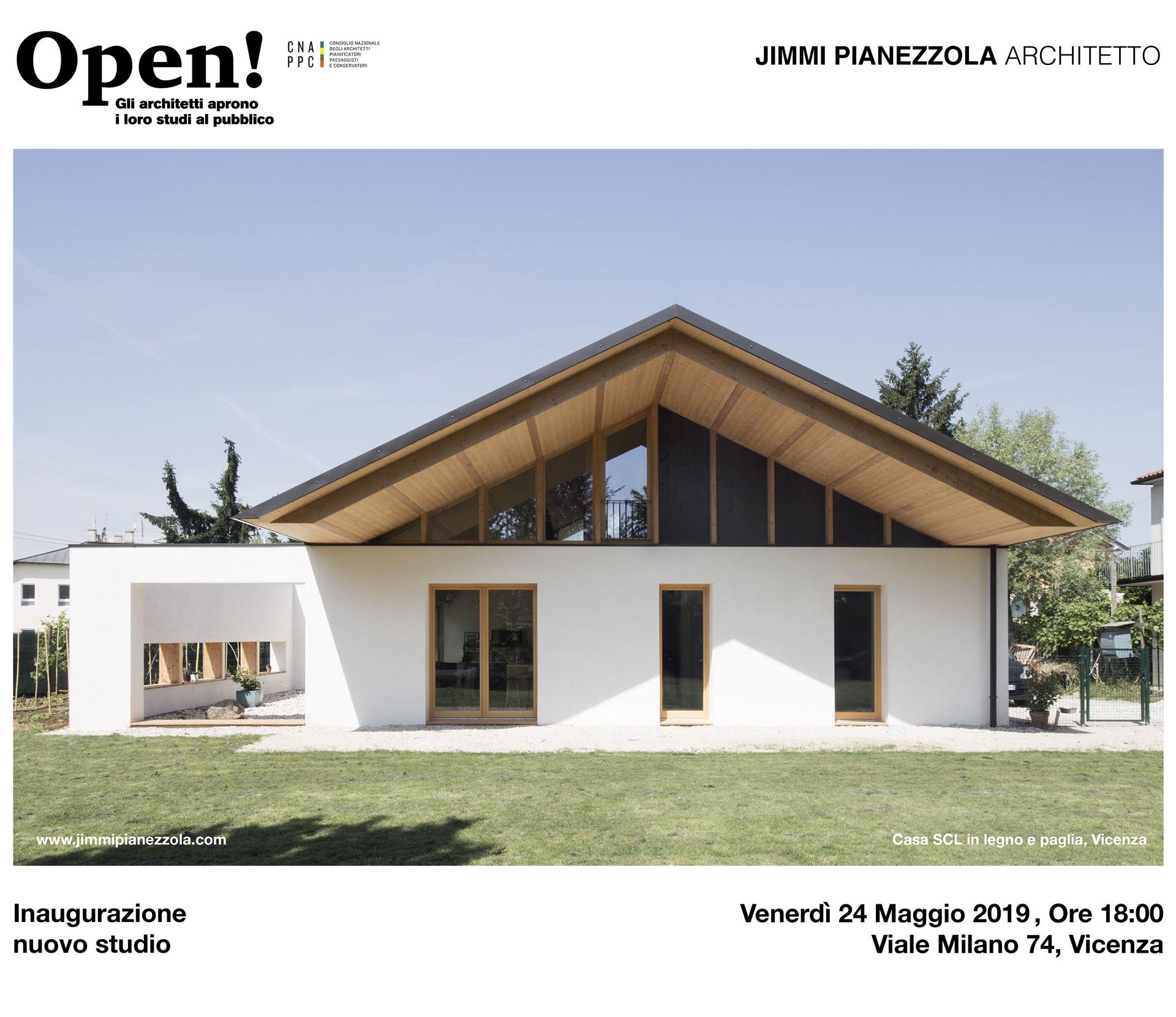 Casa SCL in legno e paglia, Vicenza