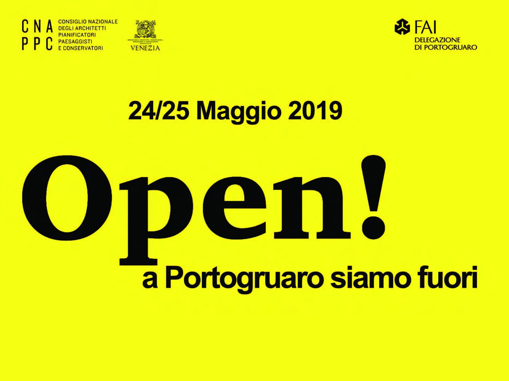 Open! a Portogruaro siamo fuori