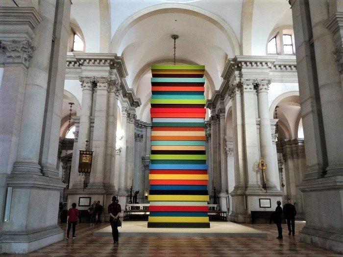 San Giorgio Maggiore - Andrea Palladio - interno / Opulent Ascension - Sean Scully