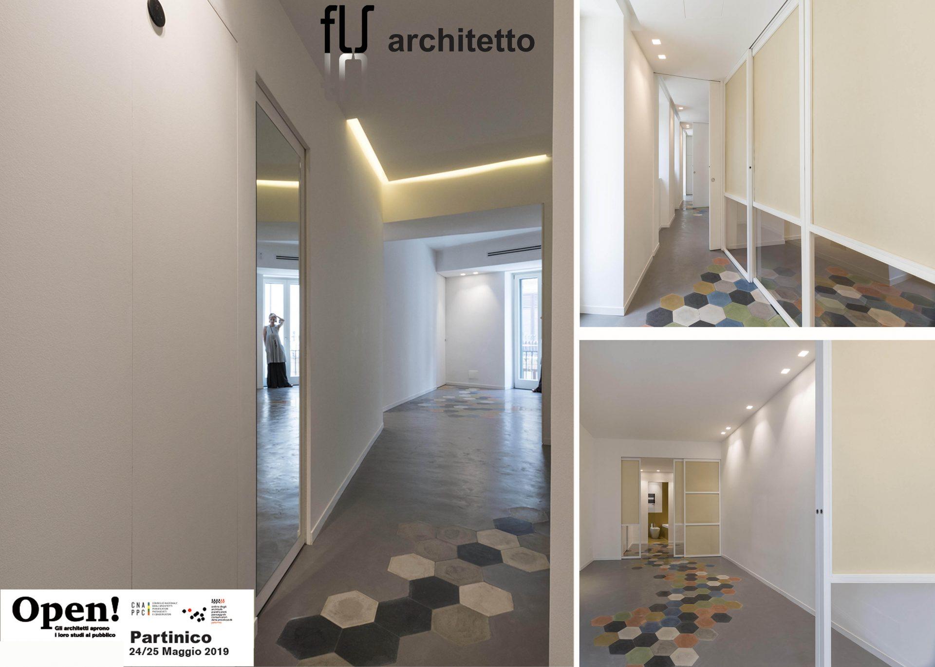 Immagini di uno dei progetti di interior realizzati dallo studio