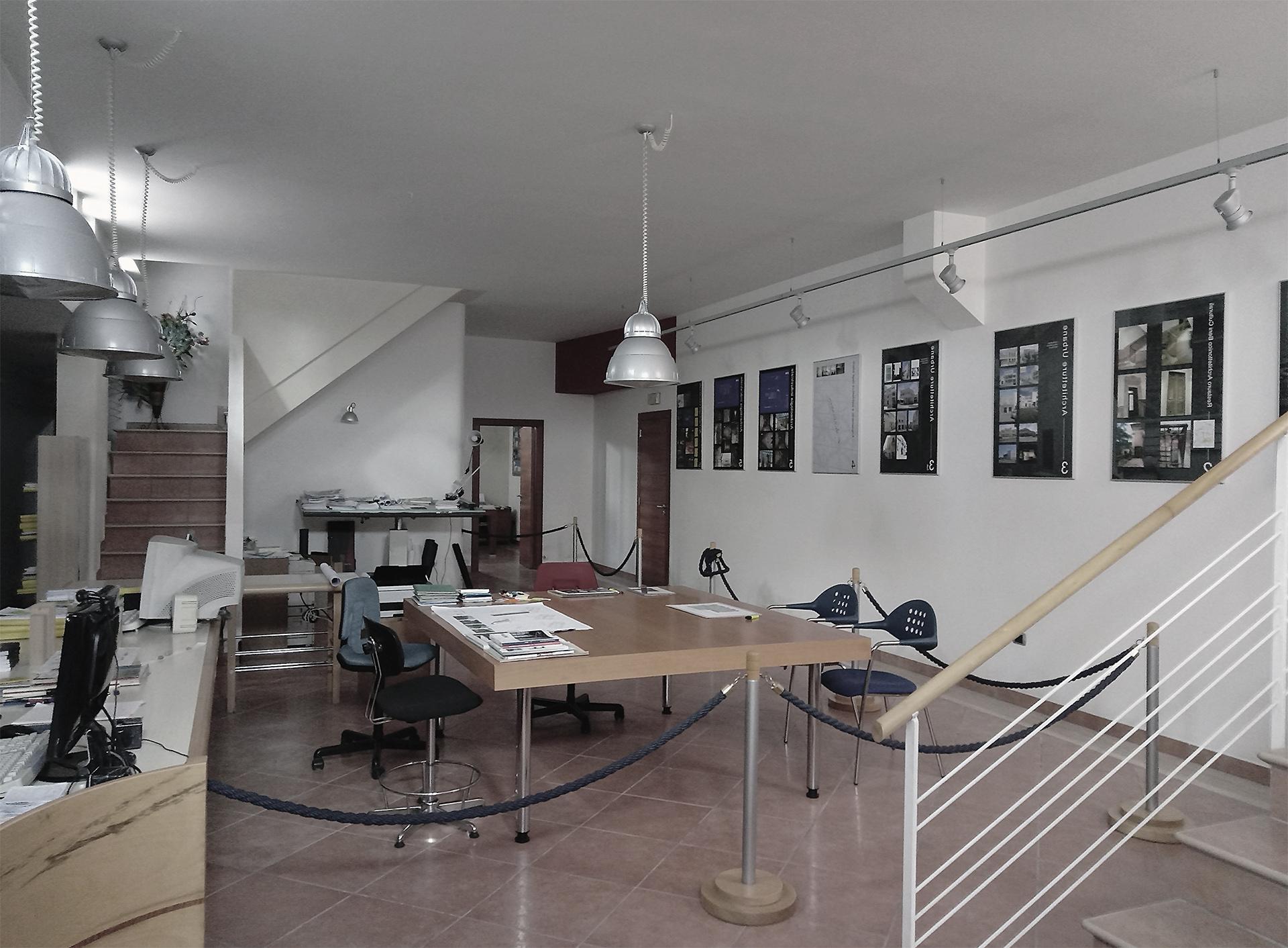 Interno studio Laboratory Workshop di Arch. Rosario Persichino
