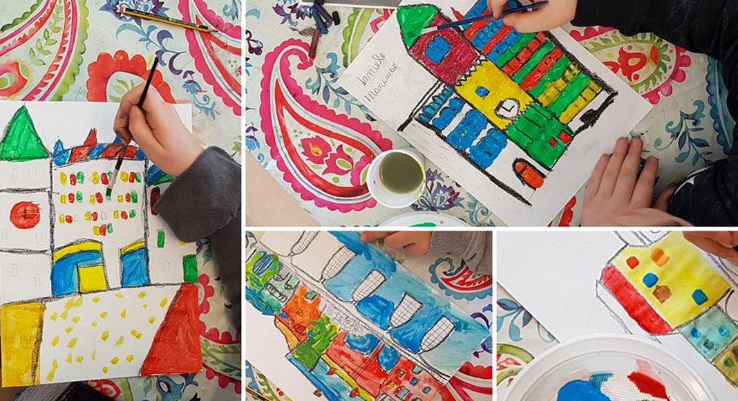 laboratorio di Architettura per bambini