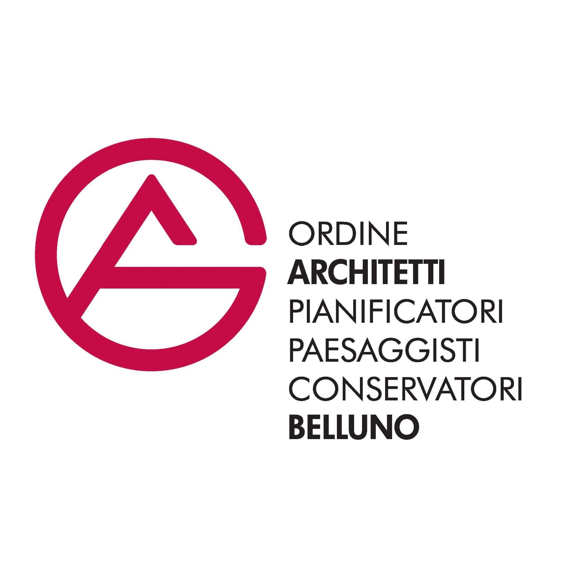 Logo dell'Ordine degli Architetti di Belluno