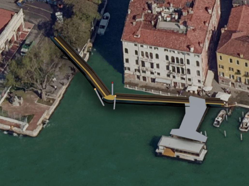 Progetti per il Ponte Molin a Venezia, evento organizz dall'Ass. Architetti Veneziani.