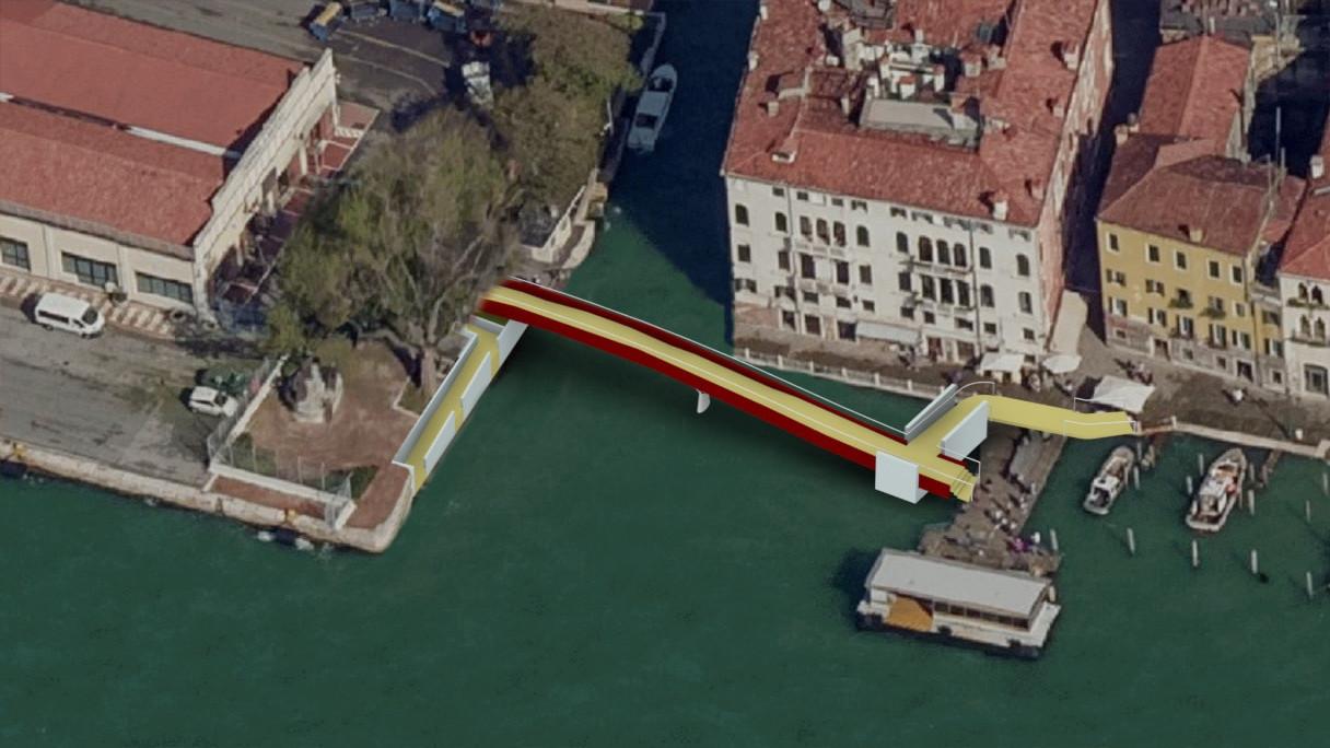 Studio per ponte Molin - Venezia
