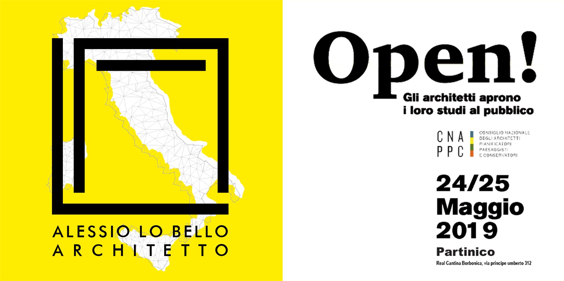 Logo studio  Alessio Lo Bello Architetto