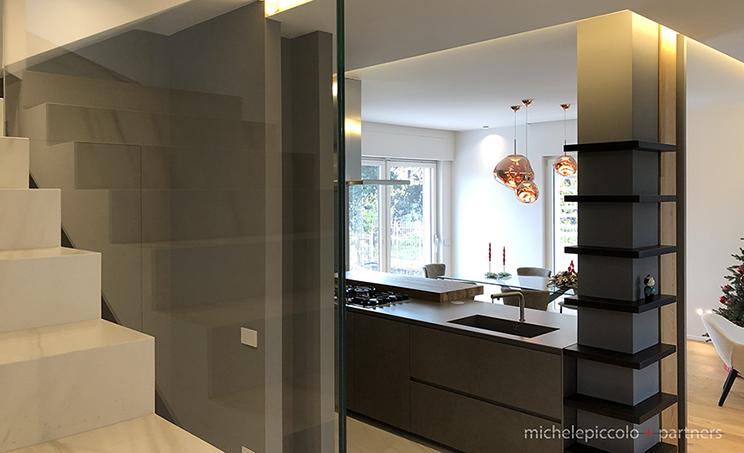 Foto progetto di interior design - casa R.G.