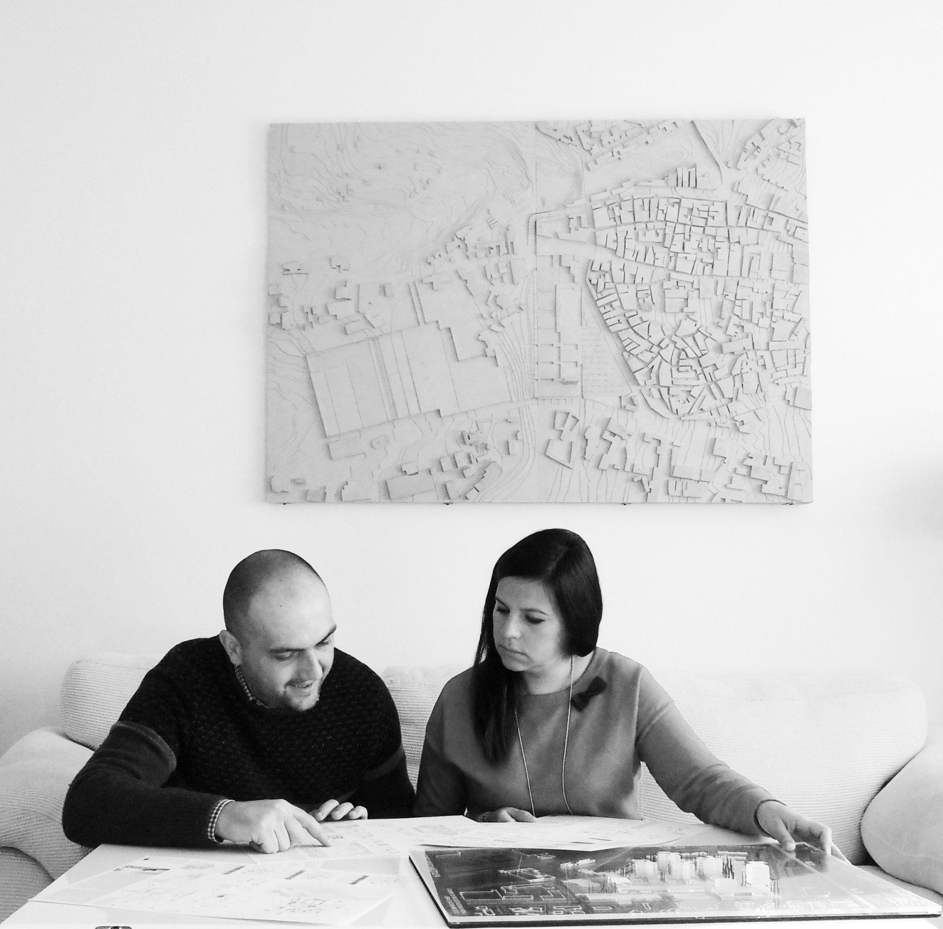 Fotografi dei componenti lo studio di architettura