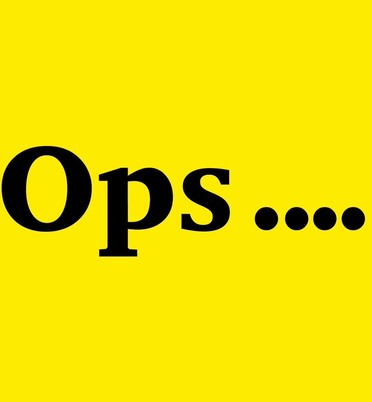 Il nostro Open è diventato OPS...