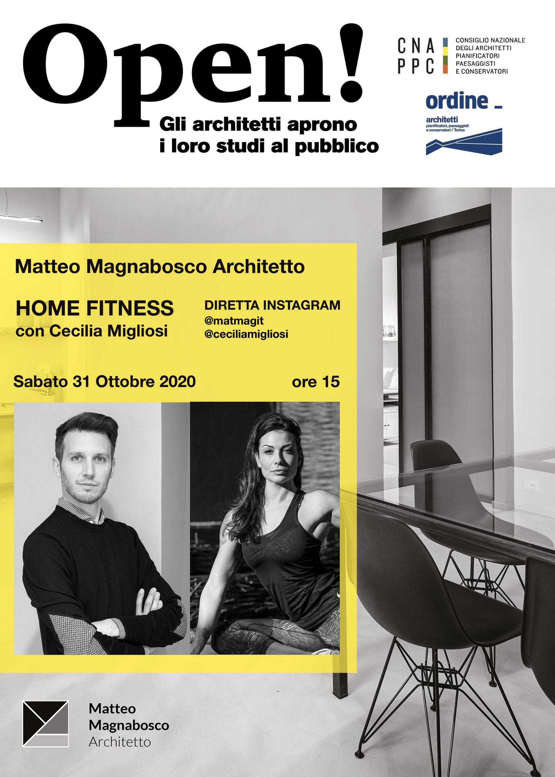 foto studio di architettura con foto dell'architetto e dell'ospite