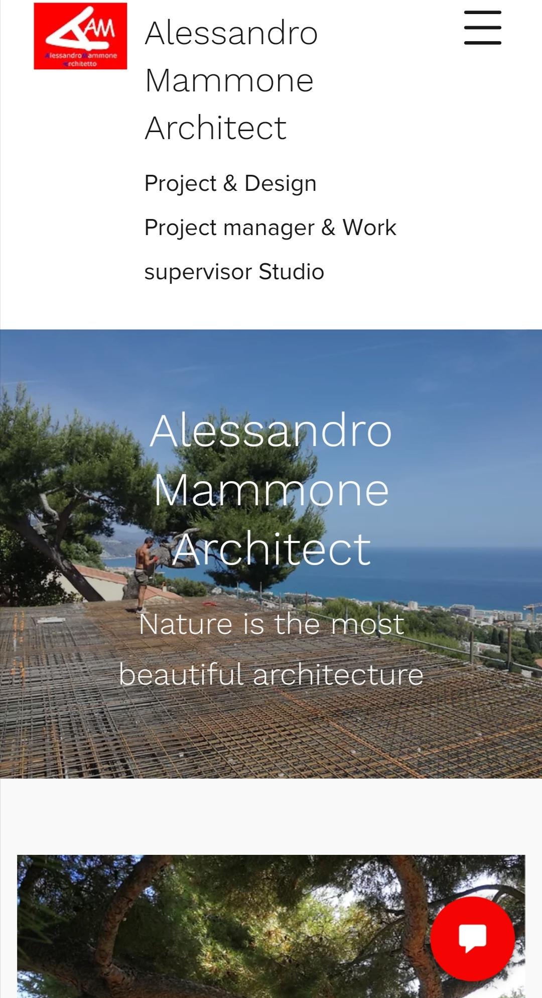 Nella mia foto un momento del cantiere di una costruzione a Roquebrune Cap Martin
